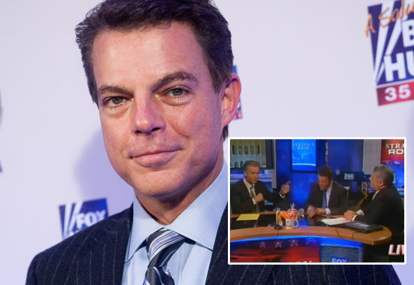 Fox News anchor Shepard Smith (Getty Images | Inset from Fox News)