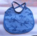 Bib for a baby boy