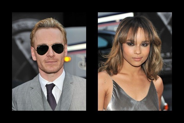 Michael fassbender dating zoe kravitz