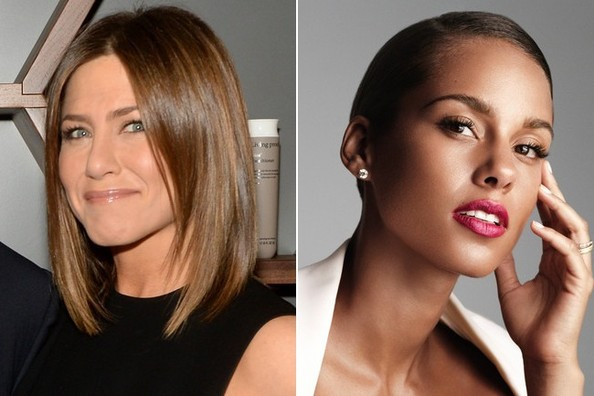 Jennifer Aniston Is No Longer a Blonde, Alicia Keys Lands a Big Fragrance Deal, and More