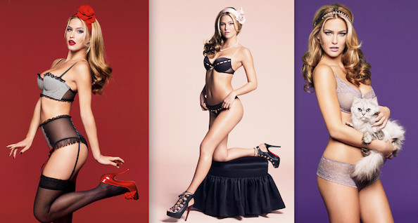 Rafaeli gave photographer Greg Kadel her best pinup girl poses in a series