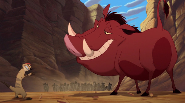 pumbaa was the first disney character to fart