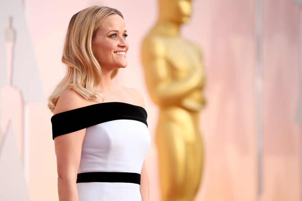 Reese Witherspoon at the 2015 Oscars.