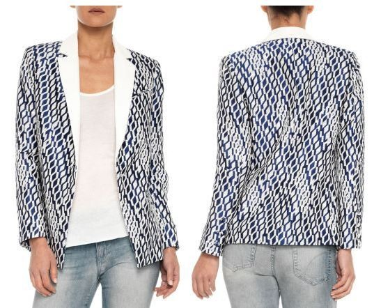 Found: Beyoncé's Geometric Jacket and Jeans