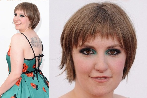 Serious Question: How Gorgeous Was Lena Dunham's Emmy Awards Makeup?