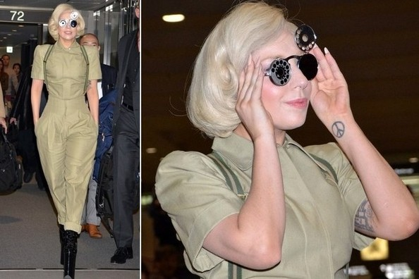 Lady Gaga's Lady Lindy-Inspired Jumpsuit