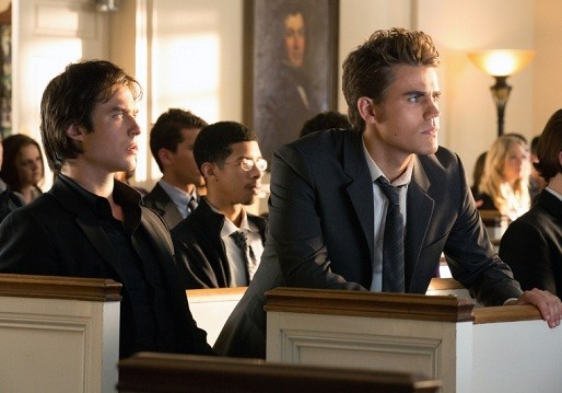 'The Vampire Diaries' New Pics - Death Comes to Town