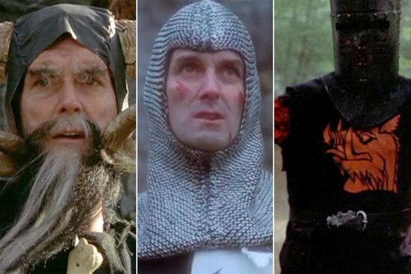 Image result for monty python john cleese dual roles