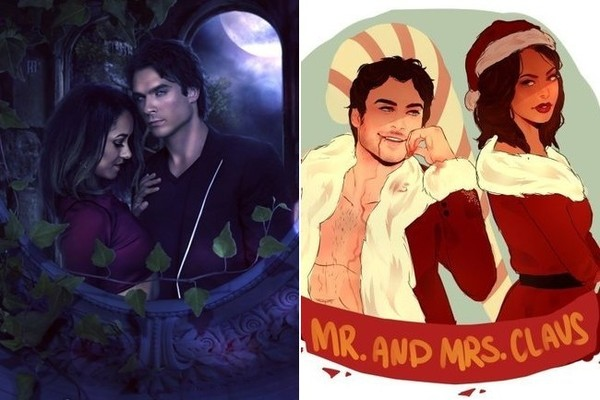 Bamon Fans Created Insanely Awesome Fan Art for Zimbio's 2016 TV Couples March Madness