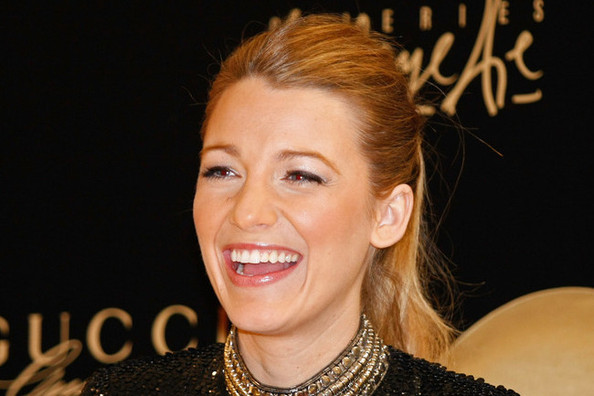 Blake Lively Makes Sequins Classy