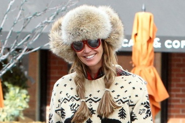 Holiday Style Inspiration: Elle Macpherson's Aspen Chic