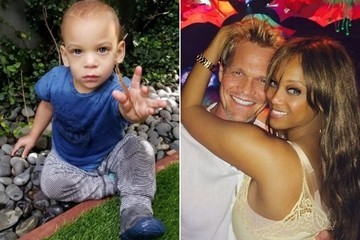 Tyra Banks' Son, York, Perfects the Smize at Only 18 Months Old