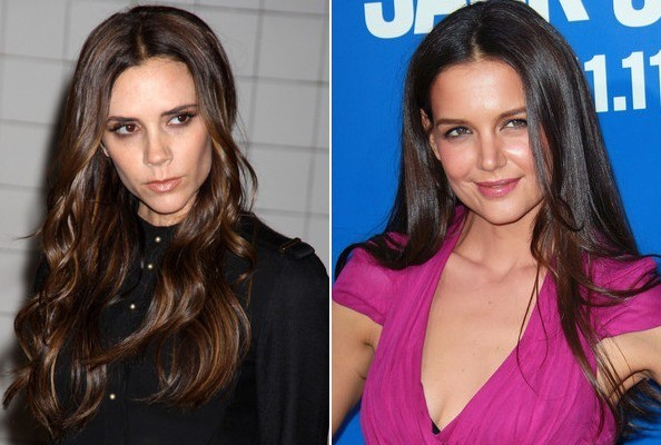 Katie Holmes and Victoria Beckham Going Head-to-Head at NY Fashion Week