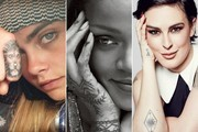 Celebrities With Beautiful Tattoos