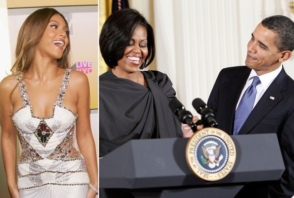 The president explains why michelle obama is just like beyonce