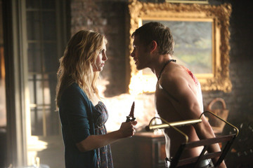 'The Vampire Diaries' New Photos: Klaroline Shares a Moment