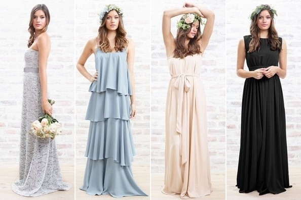 Lauren Conrad Introduces Bridesmaid Dresses To Paper Crown Wedding