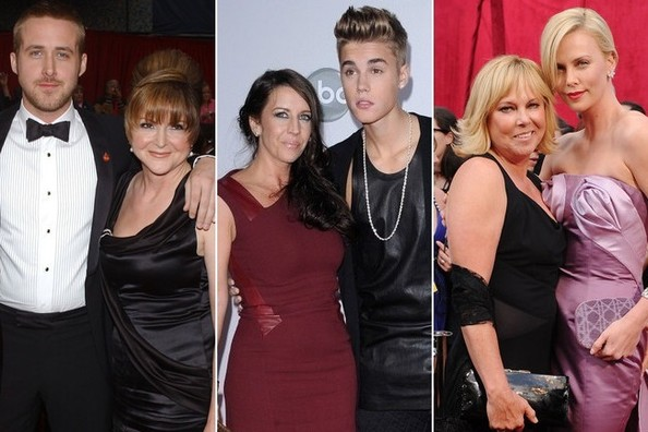 Stars Who Bring Their Moms to the Red Carpet
