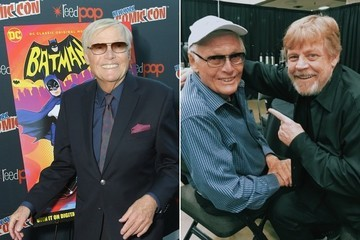 Celebrity Friends of Adam West Remember Their Late Comrade