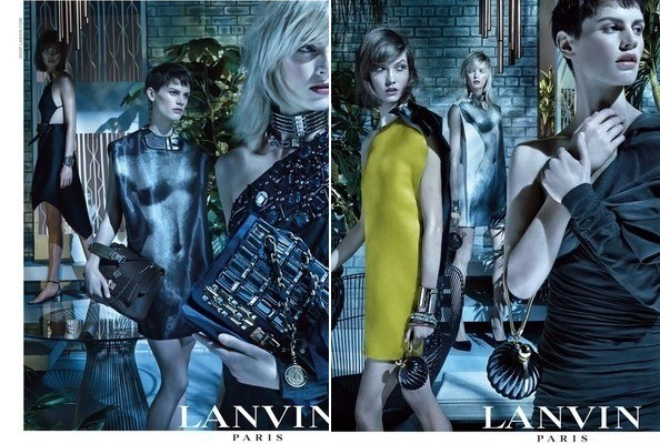 Alber Elbaz Skypes Into Lanvin's Campaign Shoot, Cat Models Swimwear, and More!