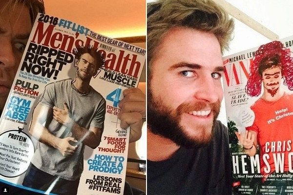 Chris and Liam Hemsworth Engage in an Adorable Instagram War
