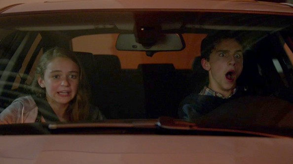 That time Dana and Finn hit a guy and drove away