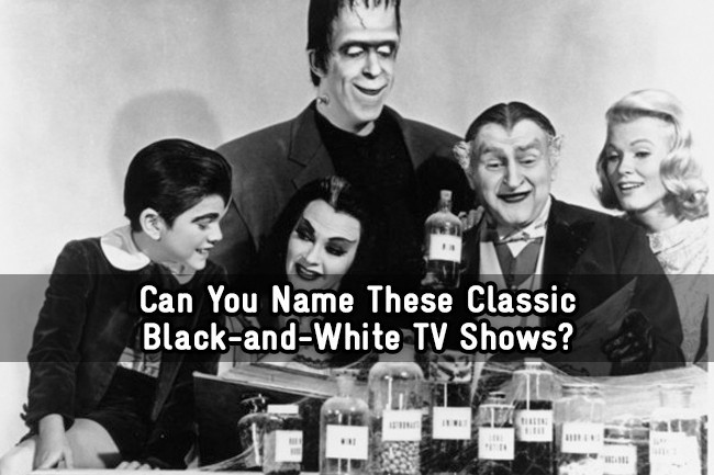 Can You Name These Classic Black And White Tv Shows Trivia Quiz