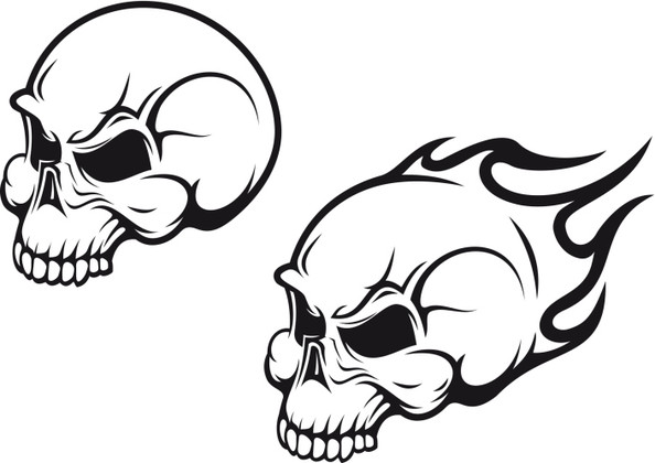 Tattoo Design Ideas find this pin and more on tattoo tatto ideas 2017 tattoo design Flaming Skull Tattoo Design Idea