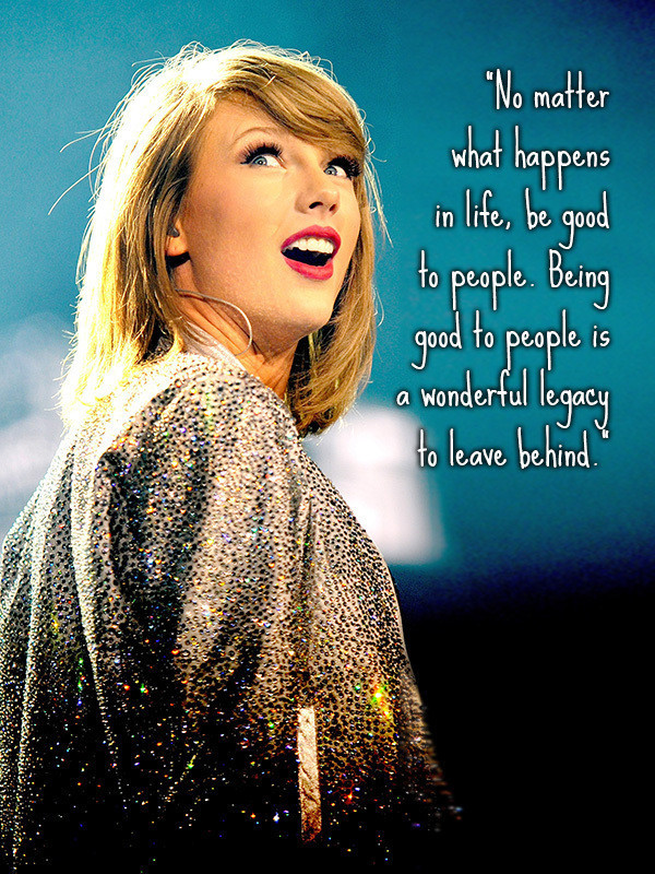 Taylor Swift Is Surprisingly Wise For The Win Zimbio