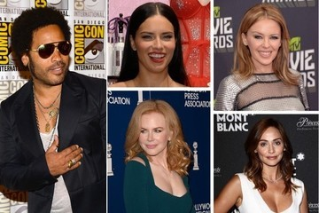 Lenny Kravitz's Impressive Roster of Ex-Girlfriends