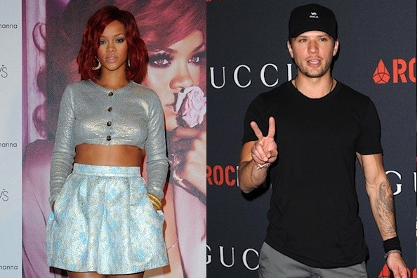 Report: Rihanna and Ryan Phillippe Have been Hooking Up for Months