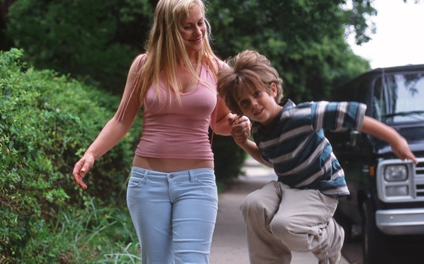 Patricia Arquette and Ellar Coltrane in <em>Boyhood</em>. (IFC Films)