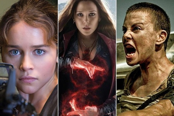 The Best Action Actresses 2015