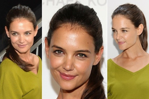 No One Does the No-Makeup Makeup Look Better Than Katie Holmes