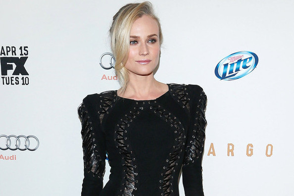 Diane Kruger Softens Up Her Edgy Zuhair Murad Jumpsuit