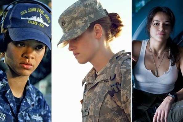 Phrase Naked women in uniform military are not