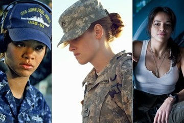Women in Uniform - The Girls of Military Movies