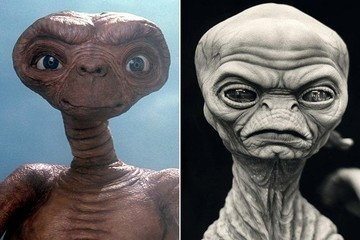 Here's What E.T. Looked Like Before He Was E.T.