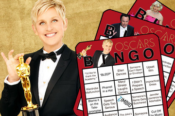 Print Out Our Oscar Bingo Cards and Play Along at Home!