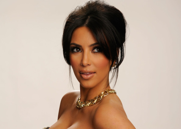 kim kardashian silver paint shoot. Kim Kardashian, winner of the