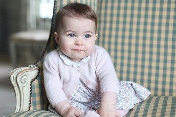 See Two Adorable New Photos of Princess Charlotte!