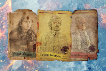 Priceless 'Game of Thrones' Trading Cards Found Inside the Wall