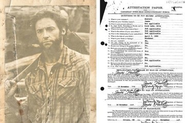 Canada Declassified Wolverine's Military Service Record for April Fools