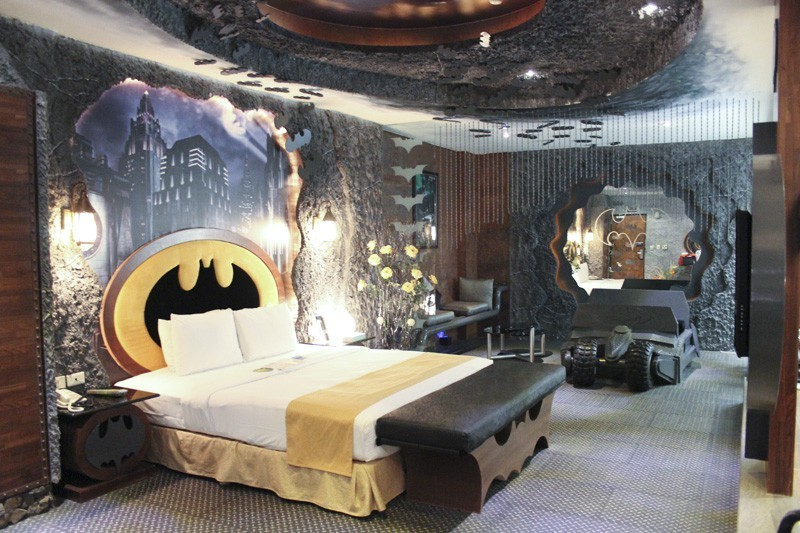 add this batcave hotel room in taiwan to your bucket list - for