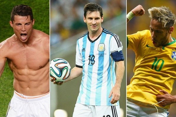 World Cup 2014: 20 Most Popular Players on Social Media
