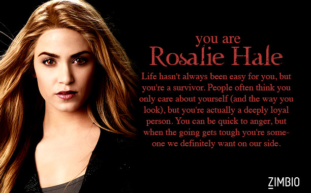 rosalie and bella relationship questions