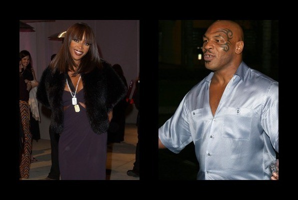 Naomi Campbell dated Mike Tyson