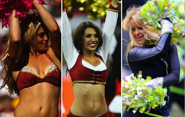 Pictures of sweating female cheerleaders useful question
