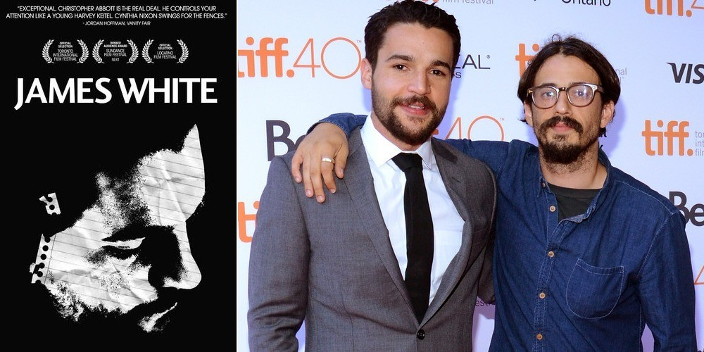 Christopher Abbott and Josh Mond at the James White photocall during the 2015 Toronto International Film Festival on September 17, 2015. (The Film Arcade | Getty Images)