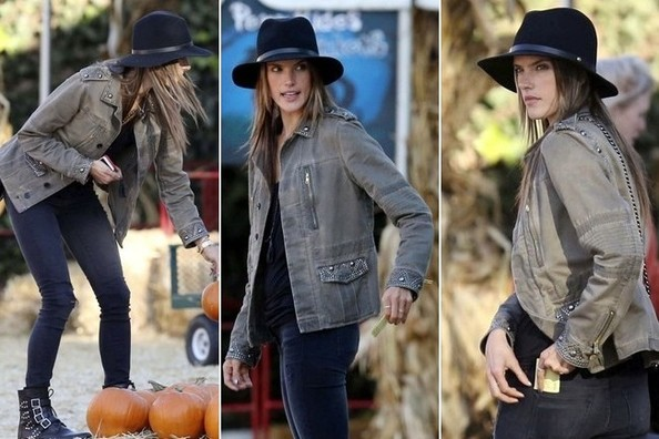 Scenes from a Western (Thanks, Alessandra Ambrosio)